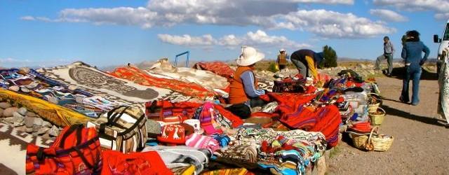 Peruvian Woman in Fashion Markets