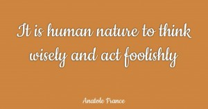 Human Nature Quote