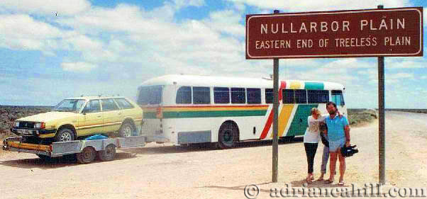 Bus at Nullabor