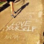 Love-yourself-chalk