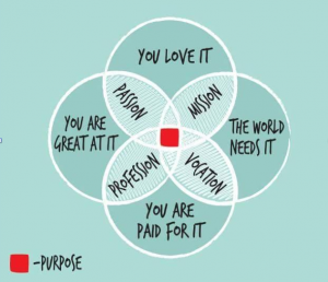 Find your life purpose with Adrian Cahill. Passion Paid Competence