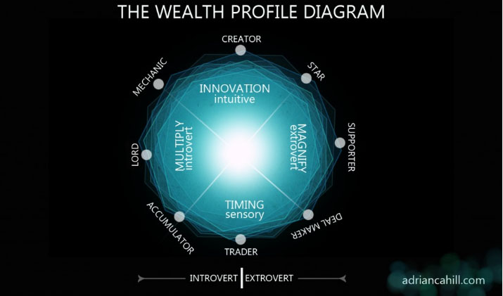 wealth profile diagram