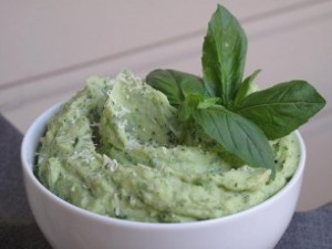 Basil Mashed Potato