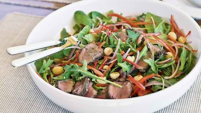Kangaroo and Macadamia Salad