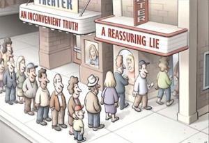 inconvenient truth vs reassuring life