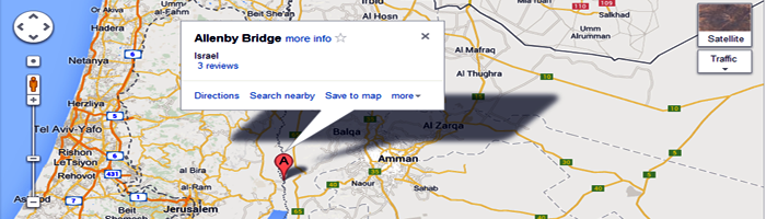 allenby-bridge-map