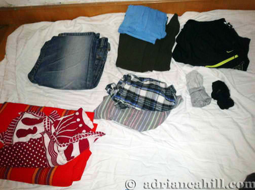 Clothes To Bring