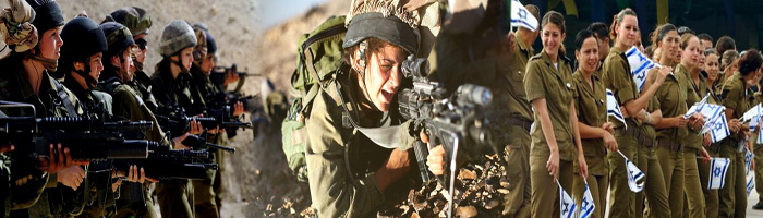 Israeli lady soldiers